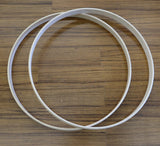 "Maple Bass Drum Hoops Unfinished 22"" - New drum kit worldmax"