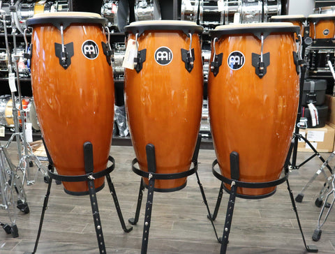 Meinl Headliner Conga Set - Stands/Bags - Used drum kit Meinl