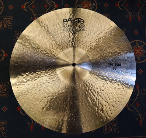 "Paiste 2002 Big Beat 20"" Cymbal drum kit Paiste"
