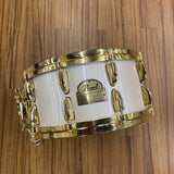 Pearl Dennis Chambers Signature Snare Gold Plated Hardware - Used drum kit Pearl