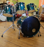 Premier Genista Drum Set Terraverdi Green drum kit Premier