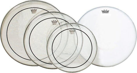 "Remo Pinstripe Pack 12/13/16/ Free P3 Coated 14"" Drum Heads Remo"