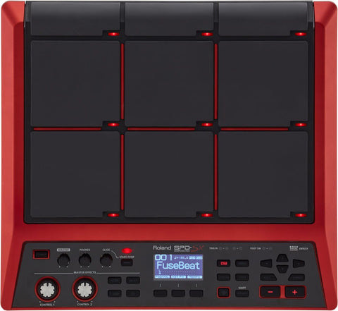 Roland SPD SX Special Edition Red drum kit Roland