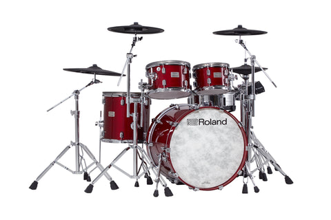 Roland VAD706 - TD50X Gloss Cherry - Sept 2021 Delivery drum kit Roland