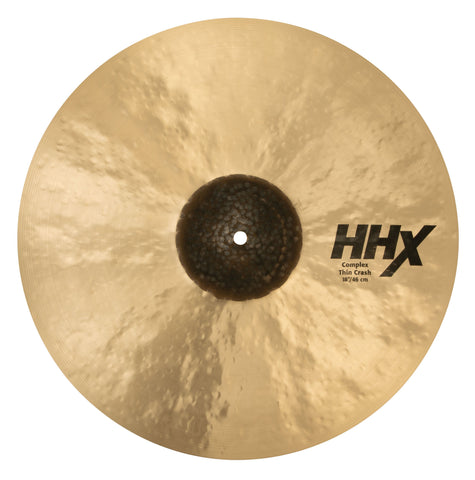 "Sabian 18"" HHX Complex Thin Crash - New drum kit SABIAN"