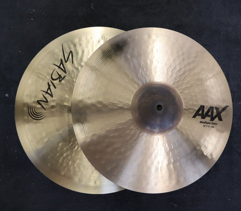 "Sabian AAX Medium Hi Hats 14"" drum kit SABIAN"