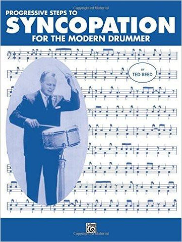 Syncopation for the Modern Drummer book Alfred