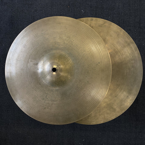 "Zildjian 1970's 13"" New Beat HiHats - Used drum kit Zildjian"