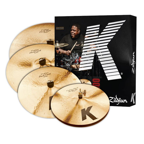 Zildjian K Custom Dark Box Set with Bonus drum kit Zildjian