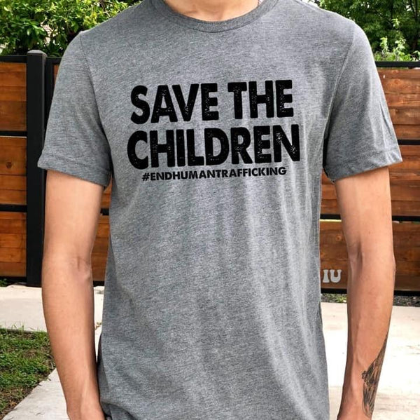 Graphic Tees - Save The Children Unisex Fit Graphic Tee DONATION