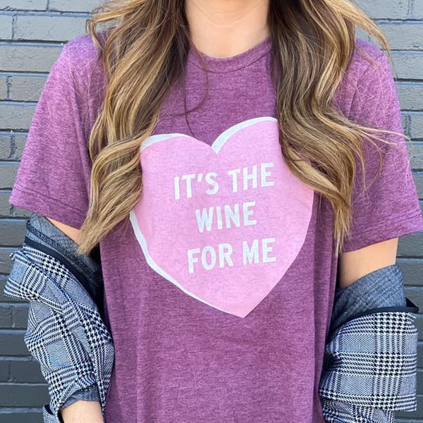 Holiday - It's The Wine For Me Unisex Fit Graphic Tee