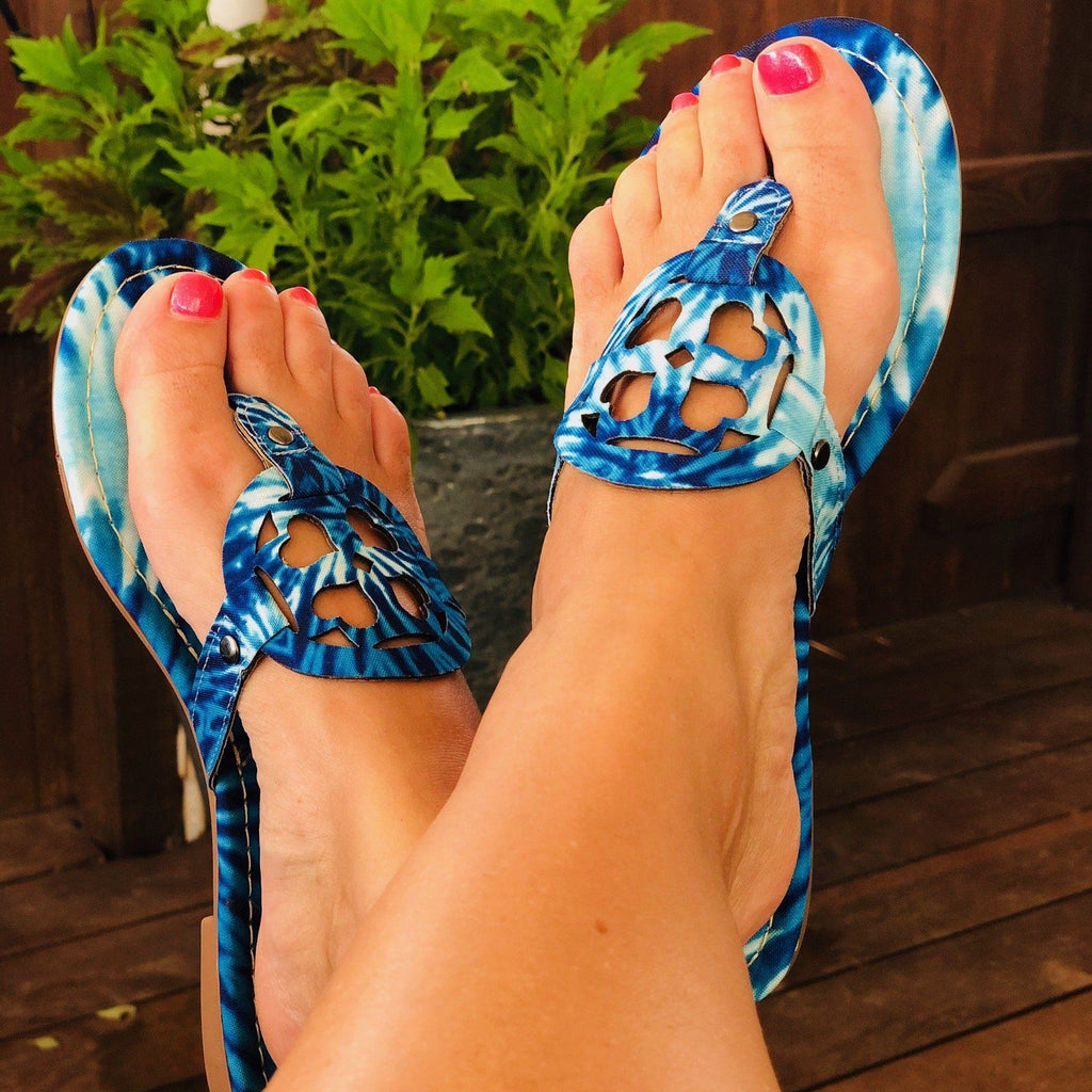 Shoes - Everglades Lulu In Blue Moon Tie Dye