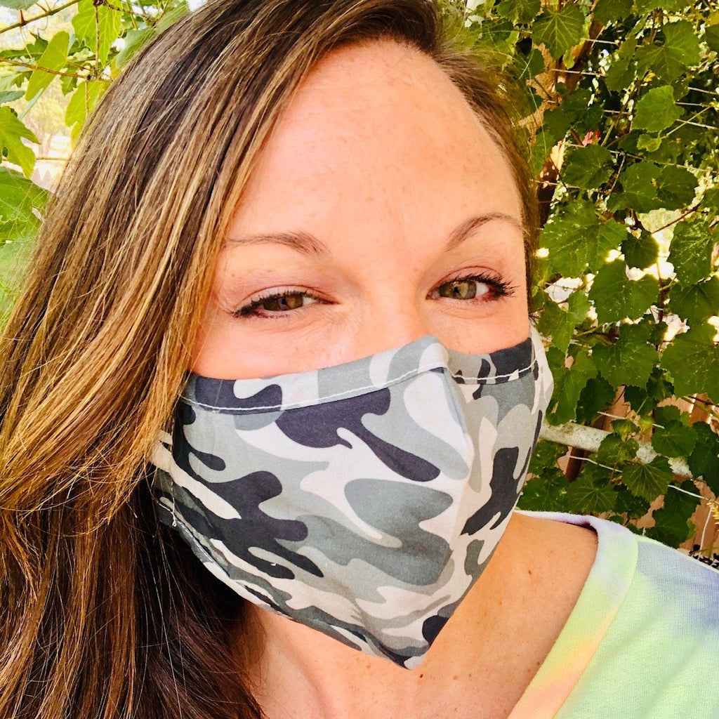 Bath And Body - Adult Everyday Filter Fabric Mask In Camo