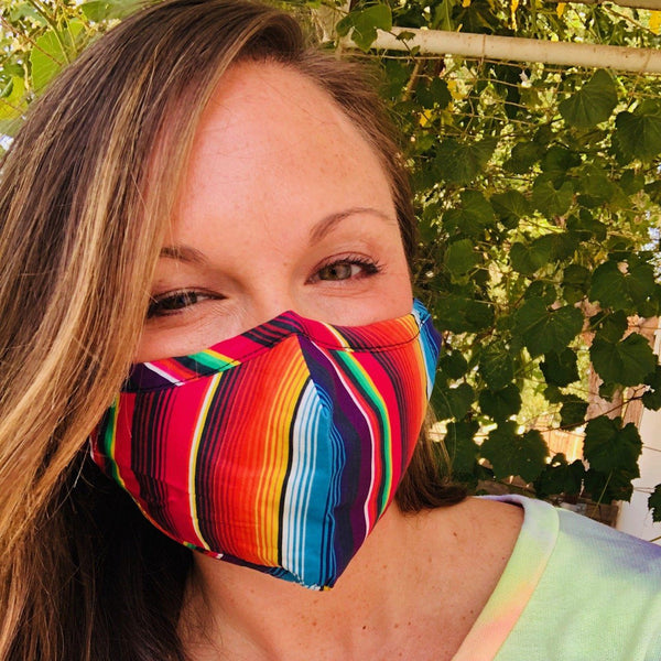 Bath And Body - Adult Everyday Filter Fabric Mask In Serape