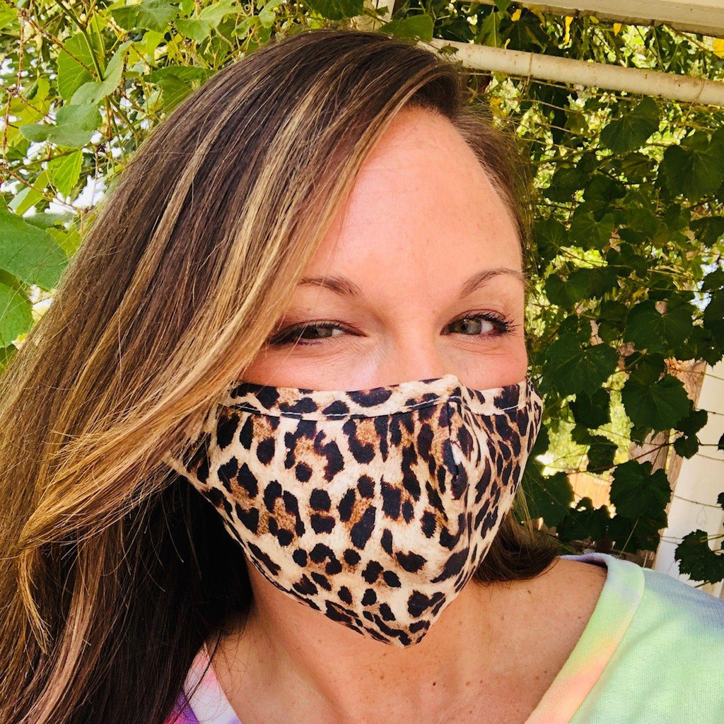 Bath And Body - Adult Everyday Filter Fabric Mask In Leopard