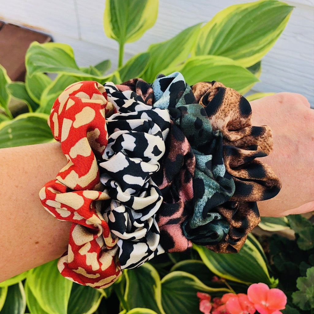 Bath And Body - Animal Print Scrunchies