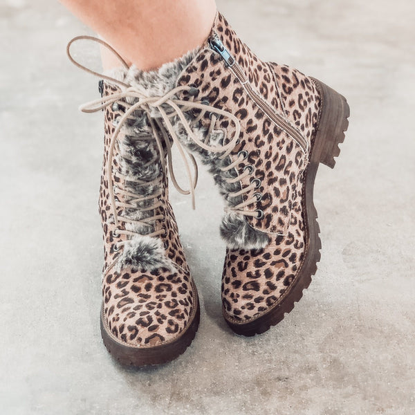 Shoes - Very G Farrah Boots In Leopard