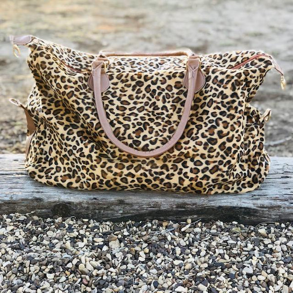 Totes, Purses, Bags - The Riverwalk Weekender Bag In Leopard