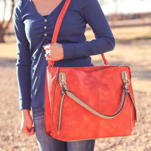 Totes, Purses, Bags - The Sis Tote In Orange