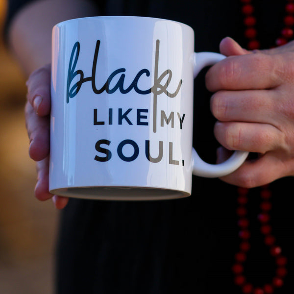 Black Soul Mug - Southern Mess Boutique