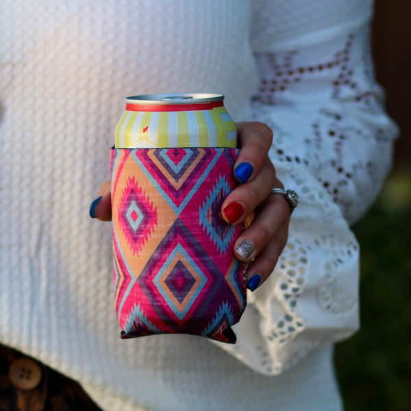 Aztec Can Cooler - Southern Mess Boutique