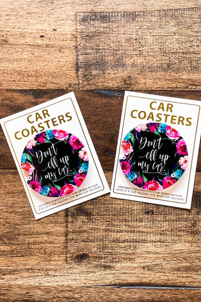 Accessories - Don't Eff Up My Car Car Coasters