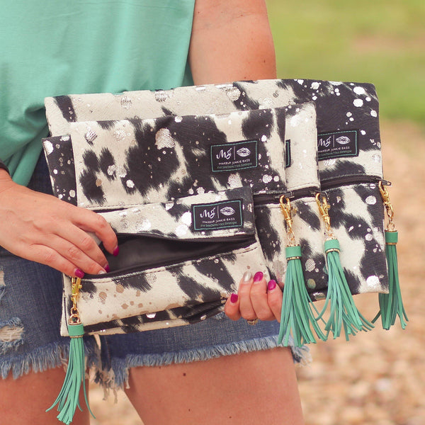Makeup Junkie - Makeup Junkie Bags Exclusively For Southern Mess In Ellie Elise