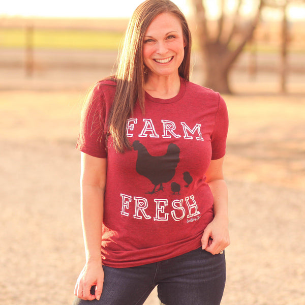 Farm Fresh Tee - Southern Mess Boutique