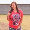 God Bless the USA Unisex Graphic Tee