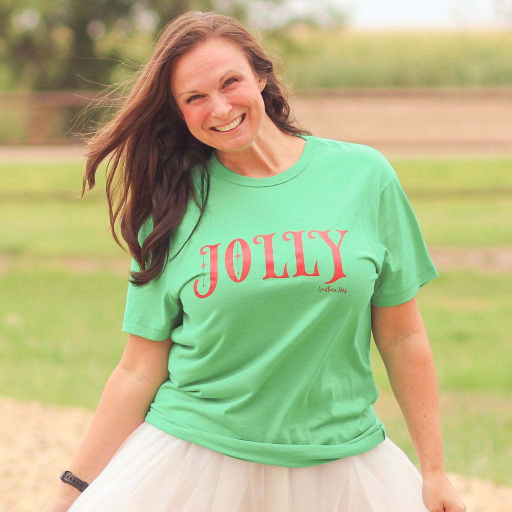 Jolly Graphic Tee - Southern Mess Boutique