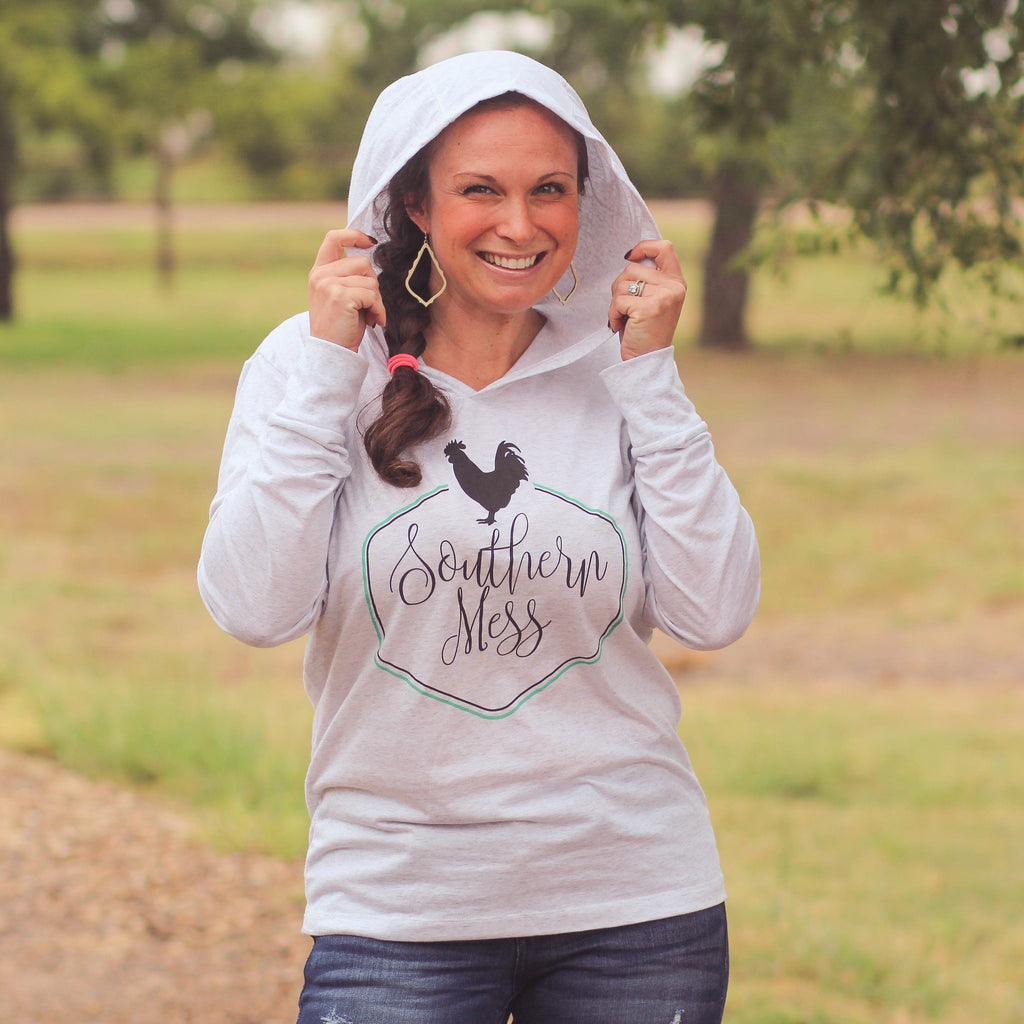 Southern Mess Logo Hoodie - Southern Mess Boutique