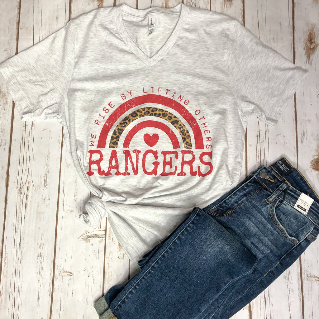 Graphic Tees - Rangers Rise Unisex Fit Graphic Tee