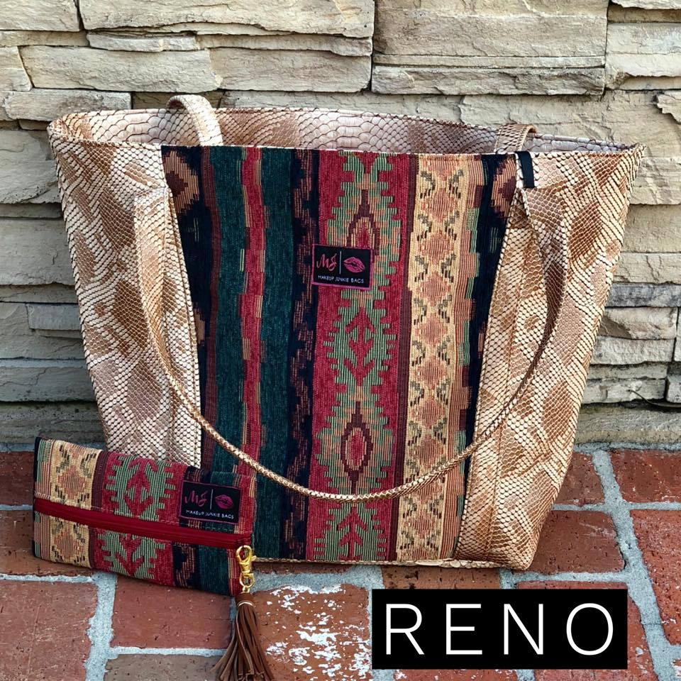 Makeup Junkie Tote Bag in Reno - Southern Mess Boutique