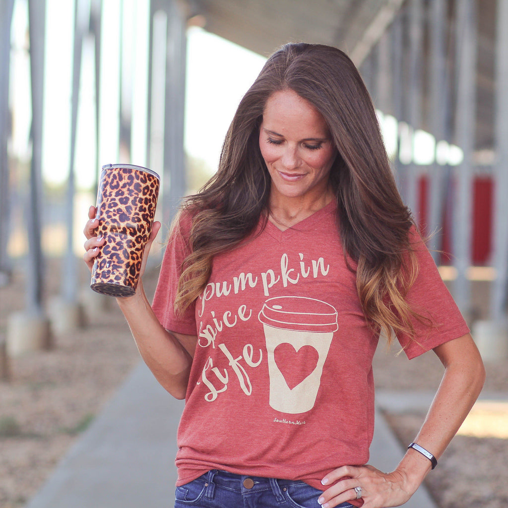 Graphic Tees - Pumpkin Spice Life Tee
