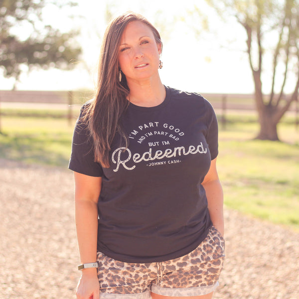 Redeemed Unisex Fit Graphic Tee