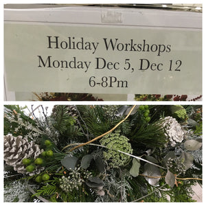 Holiday Workshops!