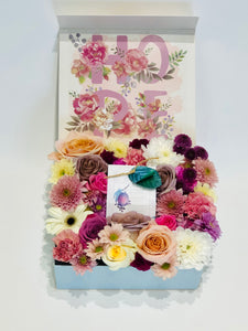 Mother's Day Flower Box & Spa Gift