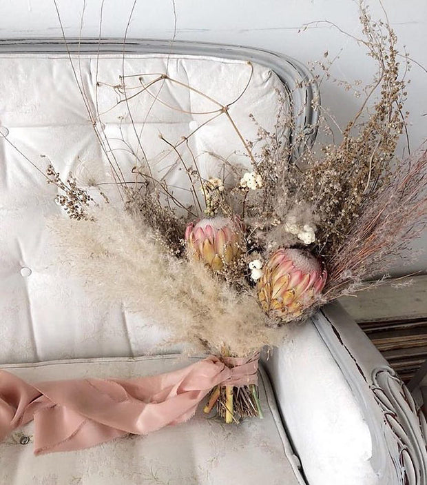 Forever Graceful- dried floral bouquet
