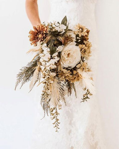 Forever and ever! - dried floral bridal bouquet