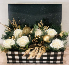 Holiday Flower Boxes