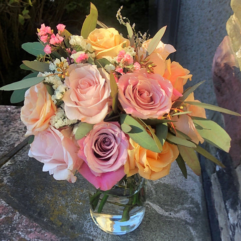 spring rose bouquet