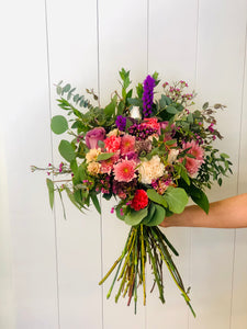 spring hand-tied bouquet order online richmond, bc delivery