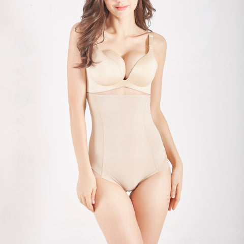 New Contour High Waisted Sheer Brief ® - Nude