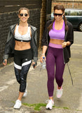 Jessica wright & Personal Trainer in a London daily Mail newspaper paparazzi shot