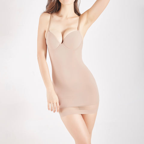 New Contour Full Slip & Bra ® - Nude