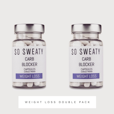 Carb Blockers  - Weight Loss Double Pack SO SWEATY
