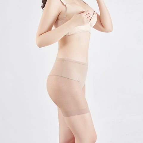 New Contour Mid Thigh Shorts ® - Nude