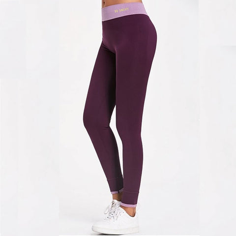 Workout Leggings - Purple