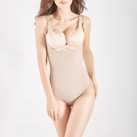 New Contour Bodysuit Sheer ® - Nude