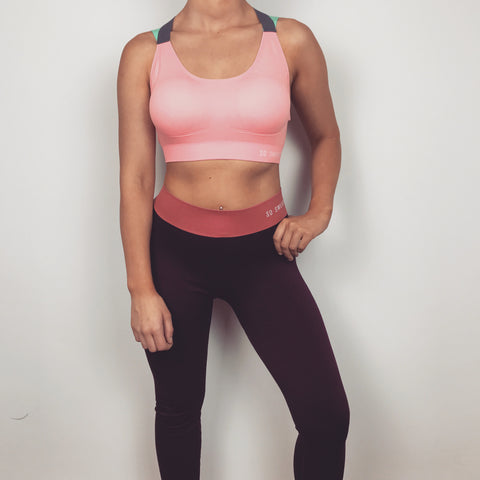 Workout Leggings - Bordeaux SO SWEATY